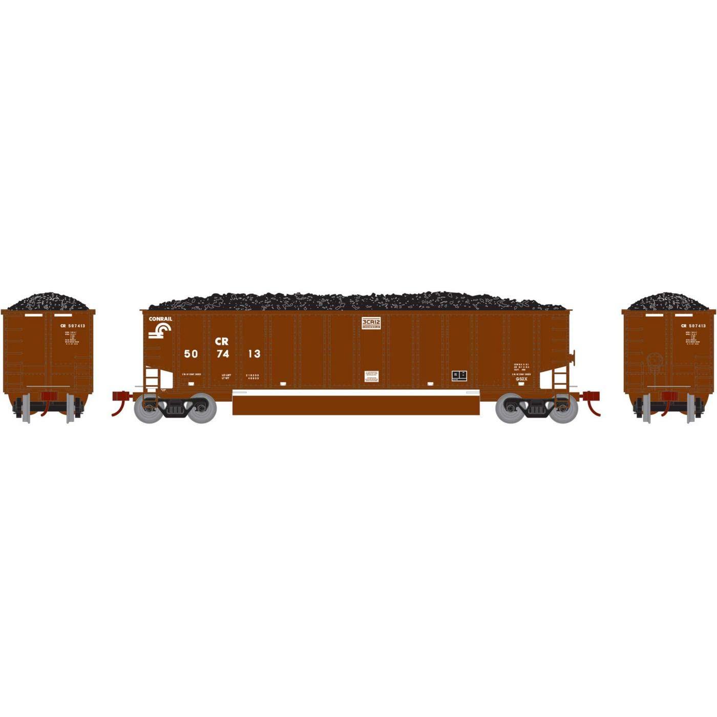 Athearn HO RTR ベスゴン コーラルポーター ロード付き CR #507413 B076889715
