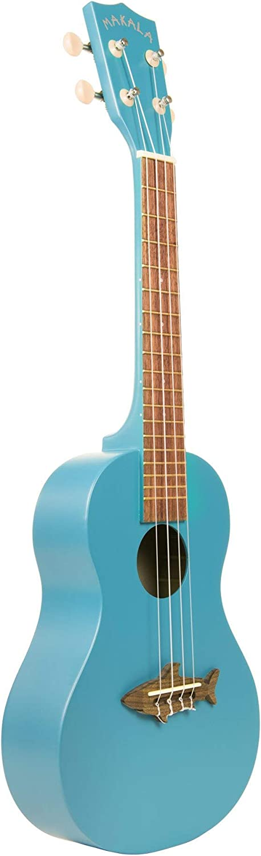 KALA, 4-String Ukulele, Right, Mako Blue (MK-CS/BLU)