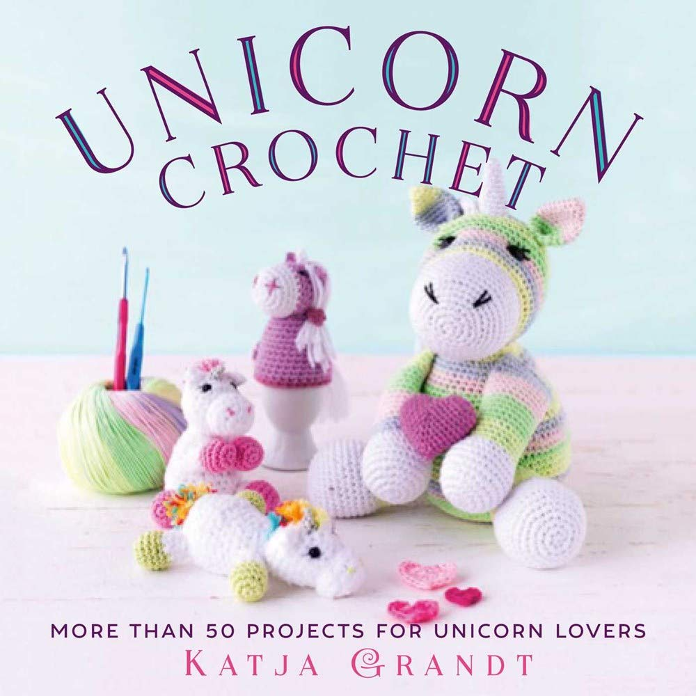 Unicorn with Rainbow Mane [Amigurumi Free Crochet Pattern] | 1000x1000