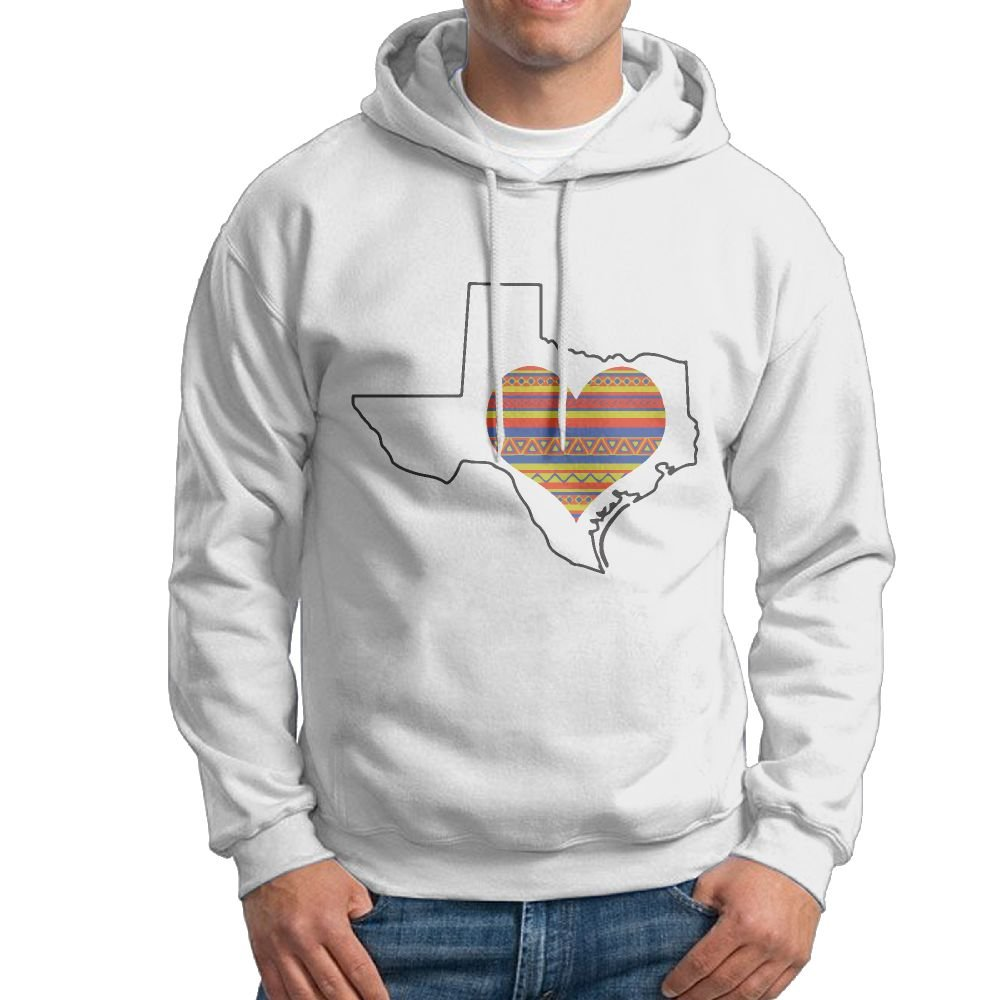 ZW&LC Men's Home Is Where The Heart Is Cotton Pullover Tops Cozy Sport Outwear