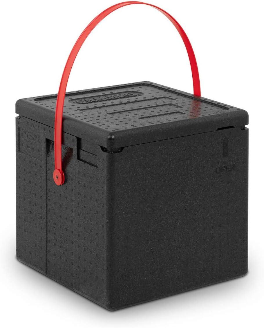 CAMBRO Caja Térmica Para Pizza Entrega A Domicilio EPPZ35330RST110 (Para 8 pizzas, Correa de transporte roja, Carga superior): Amazon.es: Hogar