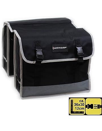 4283355773 Double sacoche Dunlop pour porte-bagage de vélo - Résistante aux intempéries