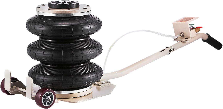 VEVOR Triple Bag Air Jack Pneumatic Jack 6600LBS Lift Jack Adjustable Jacking Tool Car Jack 6600 lbs Pneumatic Car Jack Durable