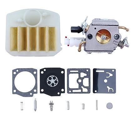 Amazon com: Haishine Carburetor Air Filter Diaphragm Repair