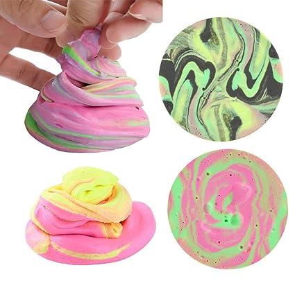 Sansee - Huevo con aroma a flotador para galaxia, multicolor, para aliviar el estrés