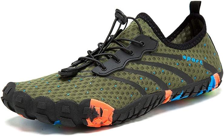 XHXMM Barefoot Zapatillas de Trail Running Zapatillas de Deporte Exterior Interior Zapatos de Deportes Acuaticos, Zapatillas de Trail Running Unisexo,Latón,47: Amazon.es: Hogar