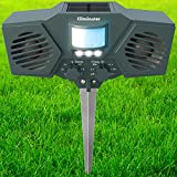 Eliminator™ Advanced Electronic Solar Energy Outdoor Animal and Rodent Pest Repeller for Cats, Dogs, Deer, Birds, etc.