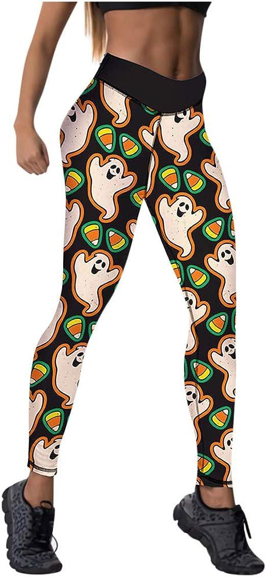 Details about  /Women Halloween Print High Waist Pants Slim Skinny Yoga Stretch Leggings Trouser