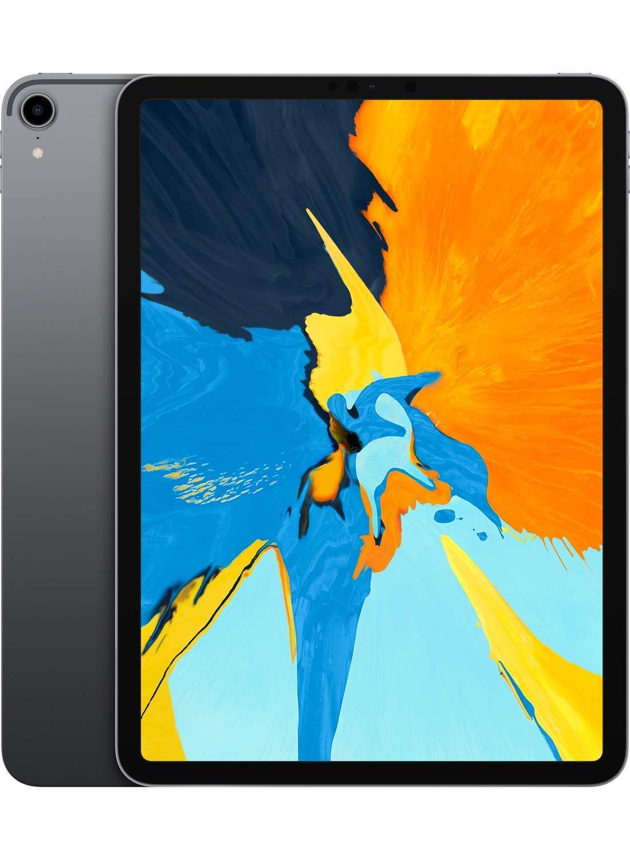 Apple iPad Pro (11-inch, Wi-Fi, 256GB) - Space Gray (Latest Model) (Renewed)