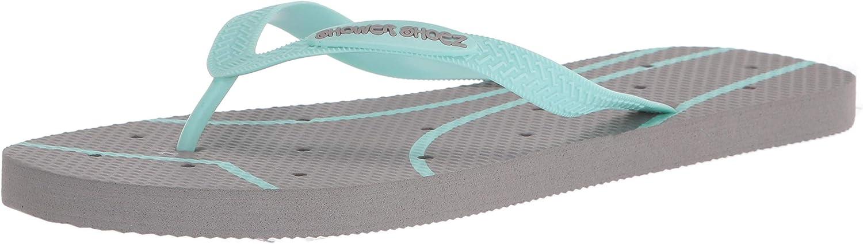 Shower Shoez Women's Non-Slip Pool Dorm Water Sandals Flip Flops