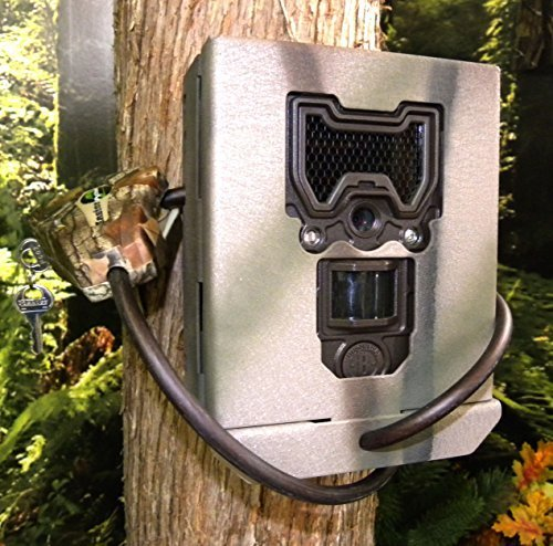 Camlockbox Security Box Compatible with  Bushnell Trophy Cam HD Aggressor Models 119774c and 119776c by CAMLOCKbox