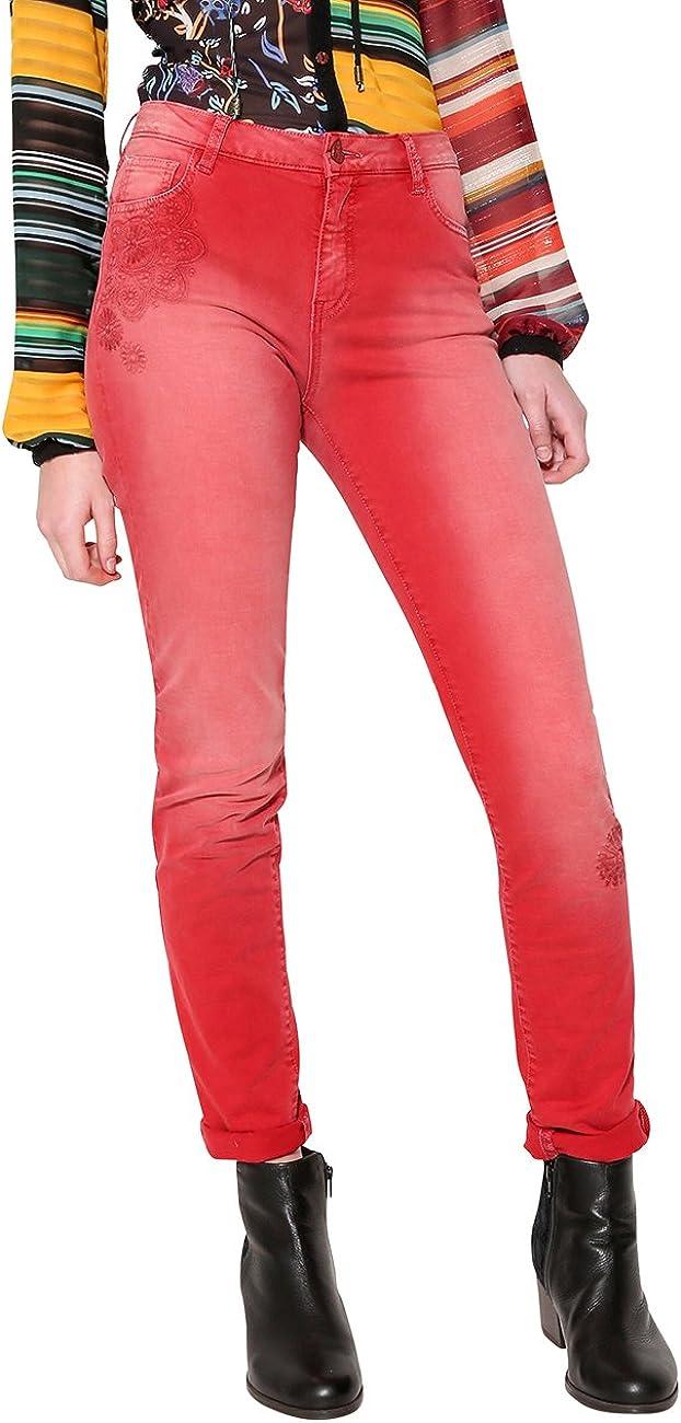 Desigual Pant_angelinass Pantalones para Mujer