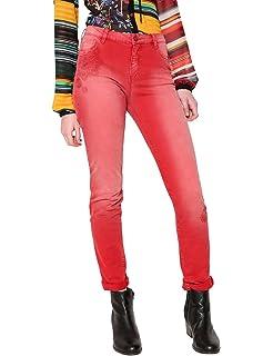Desigual Denim_Blake Pantalones Vaqueros Delgados para Mujer ...