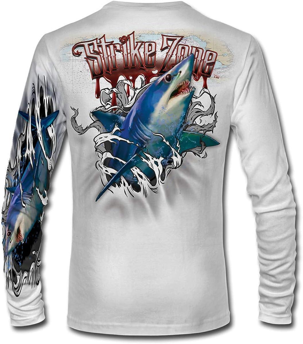 Jason Mathias Strike Zone MAKO Shark LS High Performance Shirt