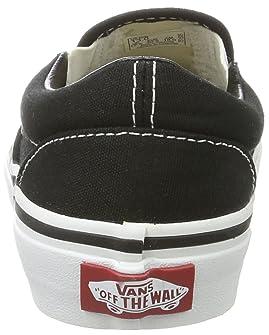 163e5cc9d4 ... Vans Kids Classic Slip-On Black True White Skate Shoe 1.5 Kids US ...