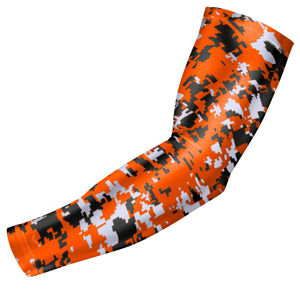 bucwild Sports Compression Arm Sleeve - Youth & Adult Sizes - Baseball Football Basketball Sports