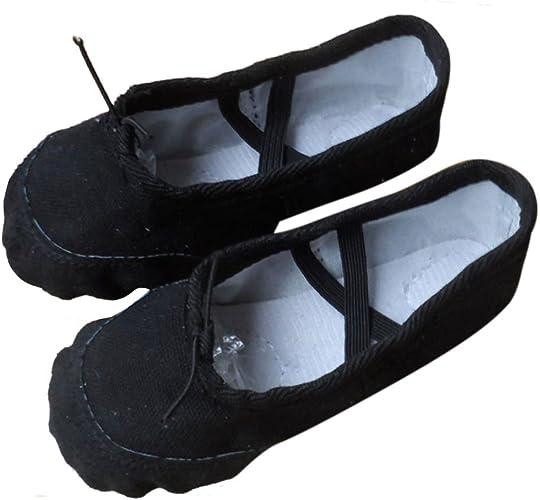 CN/_ WOMEN MEN SOFT ANTI-SLIP SOLE ADULTS DANCE BALLET SHOES GYMNASTICS SHOES