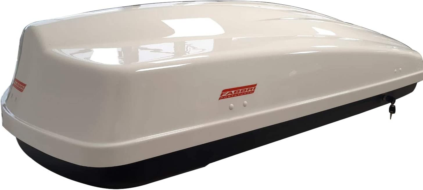 Altro FABBRI Box da Tetto Baule Portatutto Nero, Nova 340LT