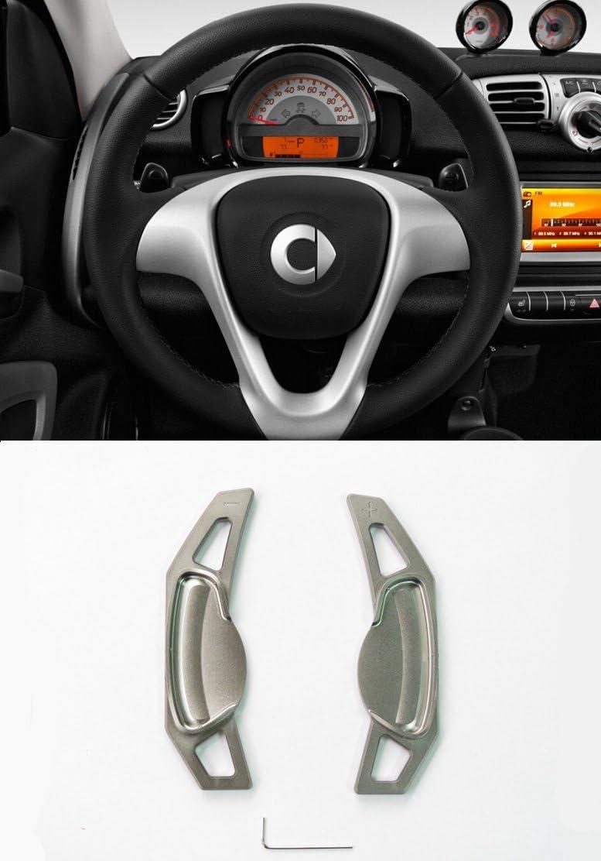 Pinalloy Gris en alliage de volant Paddle Shifter Mercedes Benz Smart Fortwo