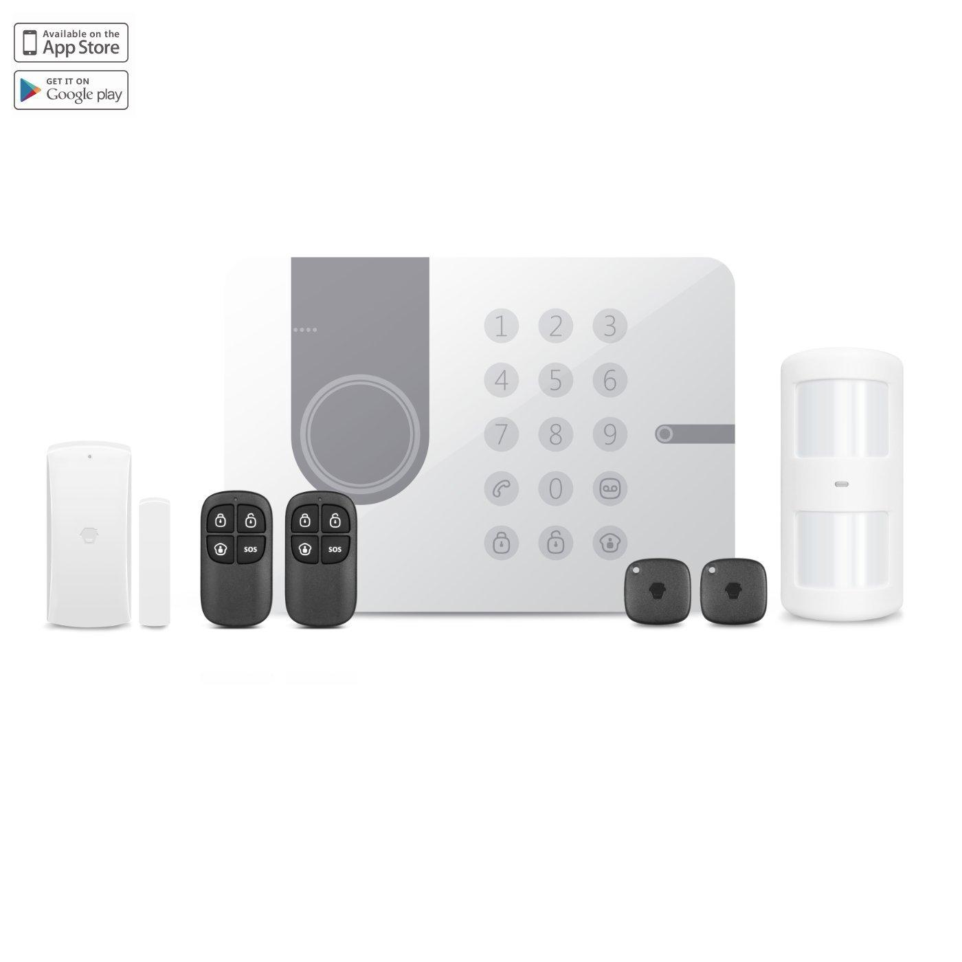 Chuango G5W 3G/WCDMA/RFID DIY Burglar Alarm System 3.7 V, Blanco: Amazon.es: Bricolaje y herramientas