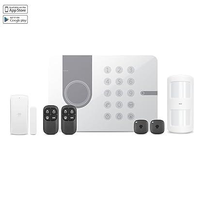 Chuango G5W 3G/WCDMA/RFID DIY Burglar Alarm System, 3.7 V, Blanco