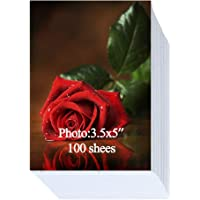 Glossy Photo Paper 3.5x5 inch 200gsm 100 Sheets
