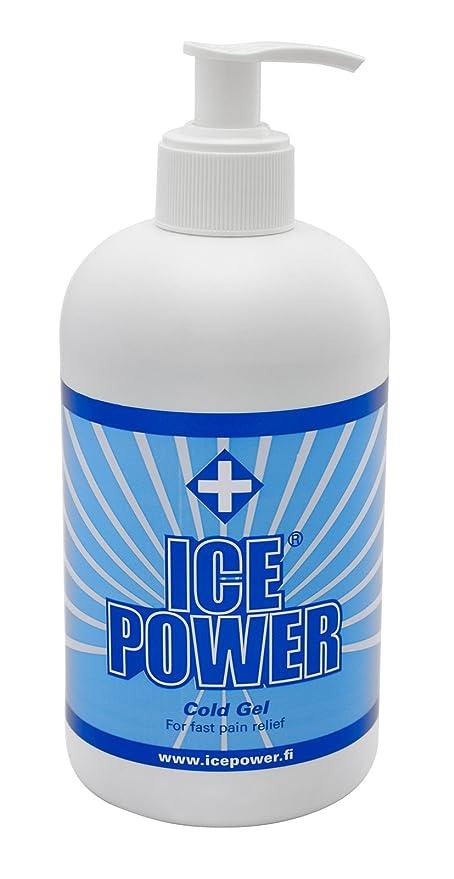 Ice Power, Gel para masaje y relajación - 400 ml.