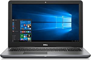 Dell Inspiron 5565 15.6in FHD Touchscreen Notebook PC - AMD A9-9400 2.9GHz, 8GB, 1TB HDD, DVDRW, Webcam, AMD Integrated Graphics, Windows 10 Home - Gray (Renewed)