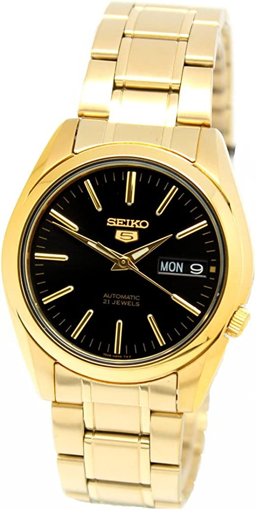 Image result for seiko series 5 automatic gold