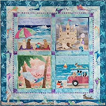 Amazon Dog Days of Summer McKenna Ryan60 Pattern Set Applique Delectable Dog Quilt Patterns