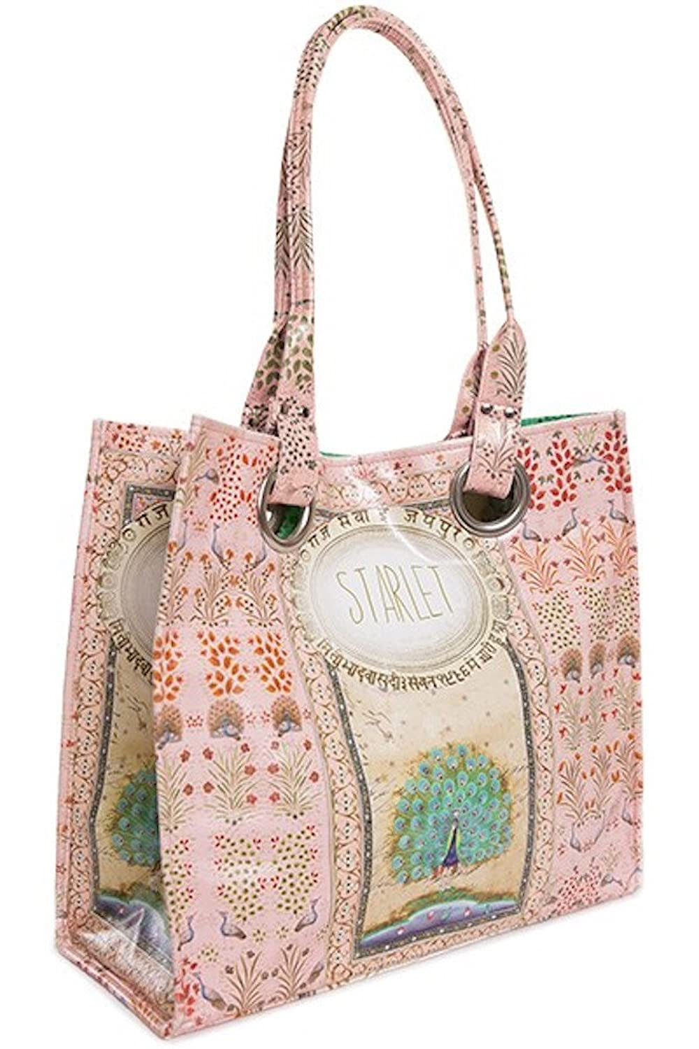 Papaya Art Starlet Luxe Tote Bag