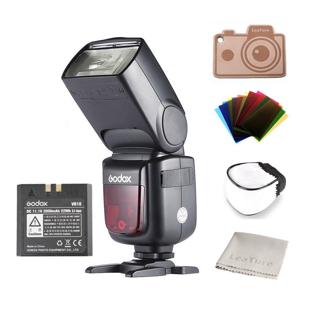 Godox Ving V860II-S 2.4G HSS 1/8000 TTL Li-on Battery V860II Camera Flash Speedlite for Sony A7 A7R A7S A7II A7RII A58 A99 A6000 A6300 Camera by Godox