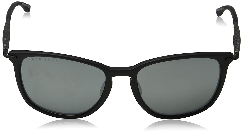 ba285f7e770de Hugo Boss Boss 0949 S - Óculos De Sol 003 T4 Preto Fosco E P   Amazon.com.br  Amazon Moda