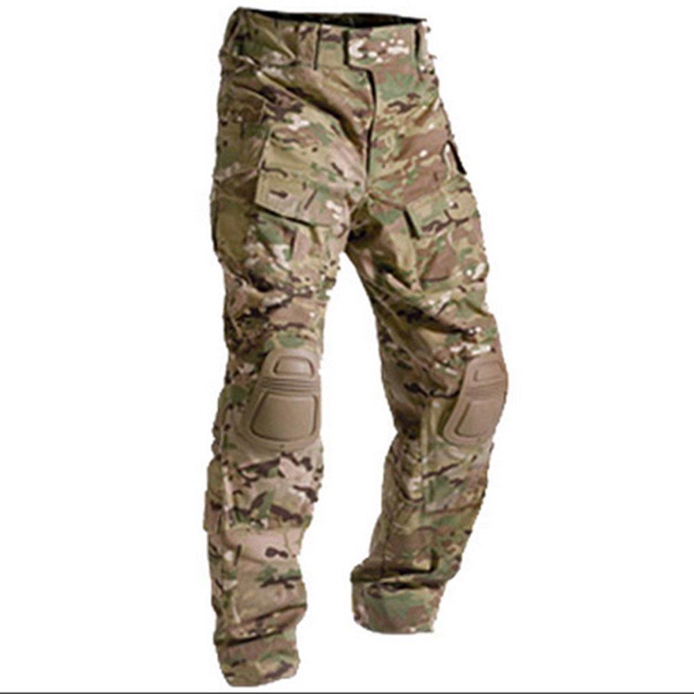 Marron clair Protection Genouill/ères pour Femme Tactique pour Airsoft//Paintball Chasse Militaire Gen3//G3 EDR