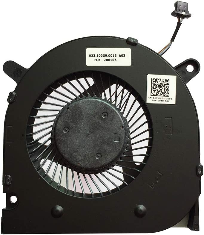 CPU Cooling Fan Cooler for Dell G3 3590 G3-3590 04NYWG 4-pin (CPU Fan)