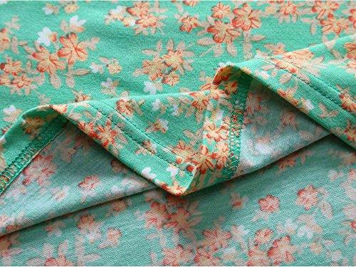Flared Sleeve Floral Women's Casual Neck 1 Unique Deep Dress Short Wrap Cross V MSBASIC Midi vZF1qq