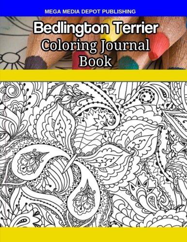 Bedlington Terrier Coloring Journal Book pdf epub