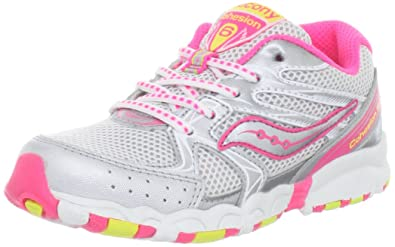 f294fa154f7a Saucony Girls Baby Cohesion Lace Running Shoe (Toddler)