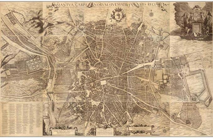 Cartel, Mapa Del Mundo Vintage World Maps Poster Madrid Capital De ...
