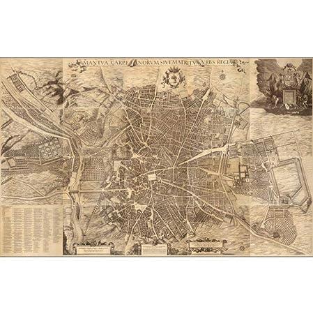 Cartel, Mapa Del Mundo Vintage World Maps Poster Madrid ...