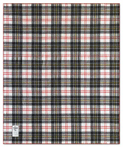 (Woolrich Home Rough Rider Plaid Wool Blanket, Multi)