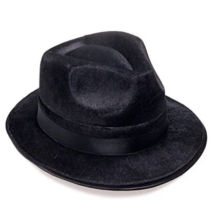 4ca9e93602154 Amazon.com  Rhode Island Novelty Blues Brothers Fedora Hat  Toys   Games
