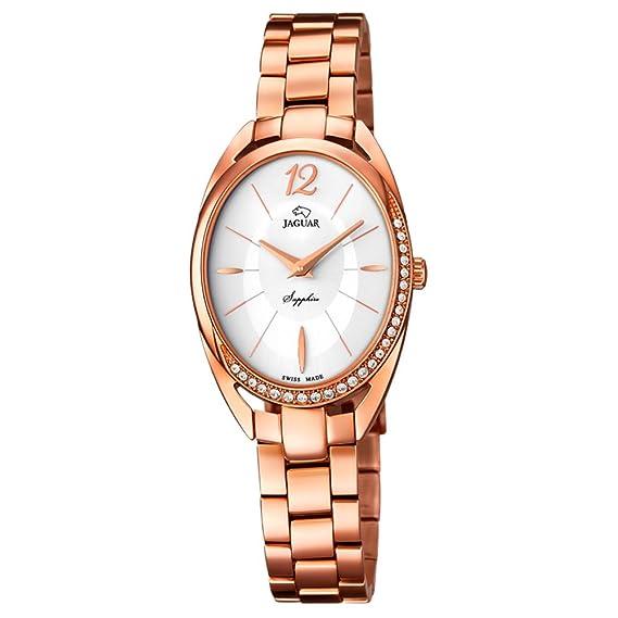 Jaguar Cosmopolitan J835/1 Reloj de Pulsera para mujeres Fabricado en Suiza: Jaguar: Amazon.es: Relojes