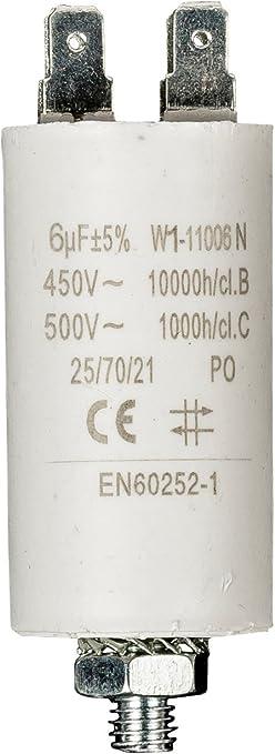 Fixapart Kondensator 6 0uf 450 V Boden Elektronik