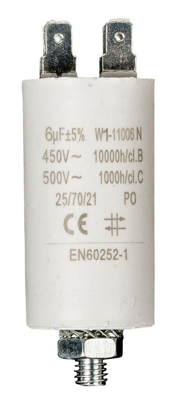 Fixapart - Condensador 4.5Uf / 450 V + Tierra