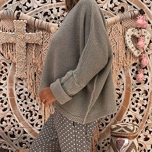 Longues Pull Blouse Tops Vêtements Shirts Poches Zippées Automne Sweat Uface Hoodie Chaud Femmes Mode Pullover Manches Gris Solide Capuche À Coton Manteau De Veste qFBZx4T