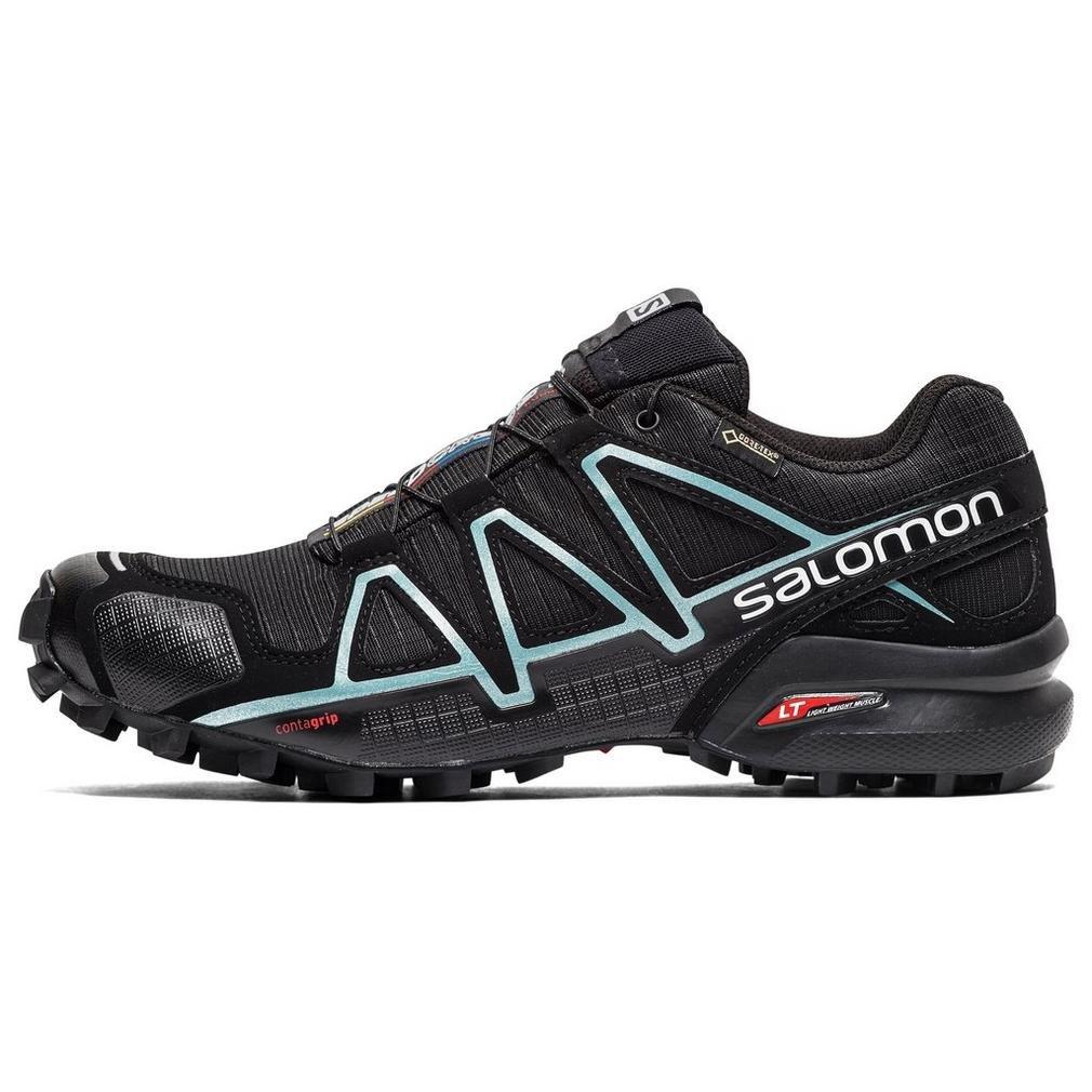 Dettagli su SALOMON SpeedCross 4 Mountain Running Black L38318700