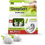 Alpine SleepSoft Sleep Ear Plugs – Sleeping Earplugs Reduce Noises and Improve Sleep - Ultra Soft Filter Ear Plugs for…