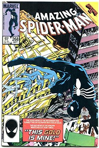 AMAZING SPIDER-MAN #268-MARVEL COMICS- Black Costume NM-
