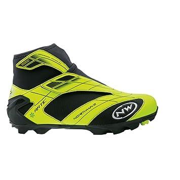 Zapatillas MTB Northwave Commuter amarillo/negro para hombre Talla 44 2014: Amazon.es: Deportes y aire libre